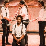 Titus Andronicus: an all-female production at Bedlam Theatre, Edinburgh Fringe, by Smooth Faced Gentlemen (credit: Daniel Harris)
