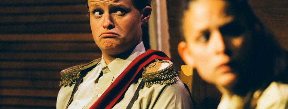 Henri Merriam as The Duke